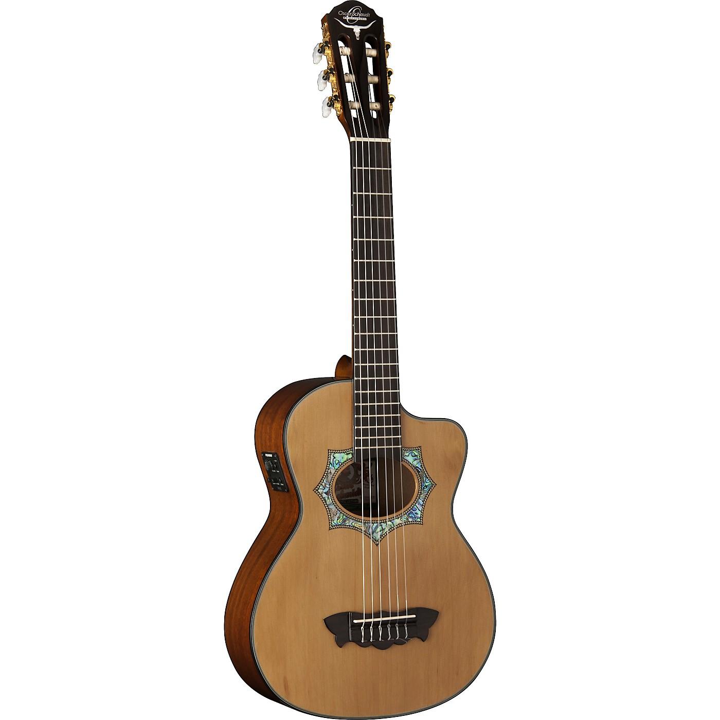Oscar Schmidt OH30SCE-O Acoustic Electric Requinto Guitar thumbnail