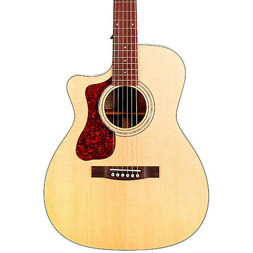 Guild OM-140LCE Orchestra Left-Handed Acoustic-Electric Guitar thumbnail