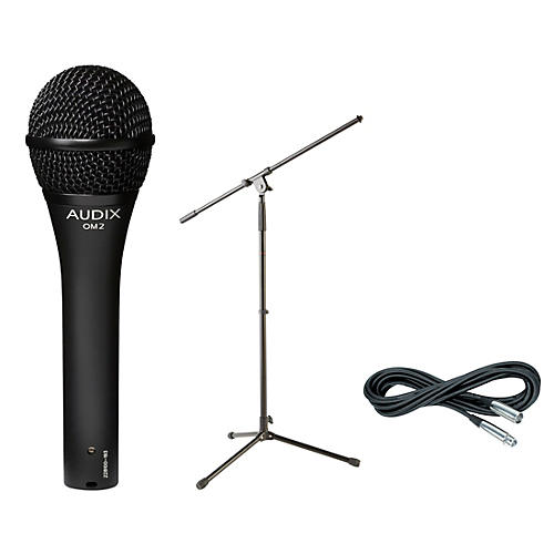 Audix OM-2 Mic with Cable and Stand thumbnail
