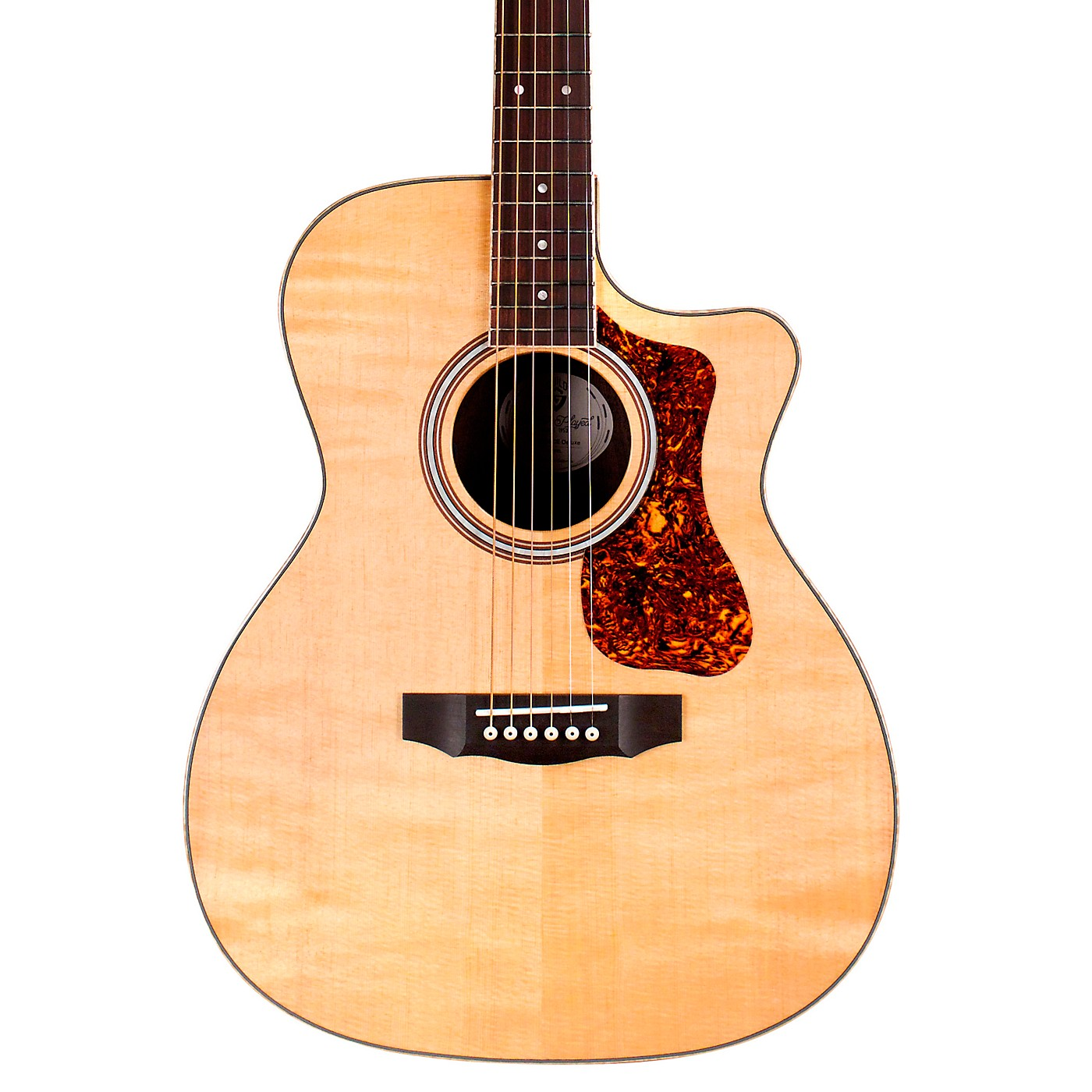 Guild OM-250CE Reserve Orchestra Cutaway Acoustic-Electric Guitar thumbnail