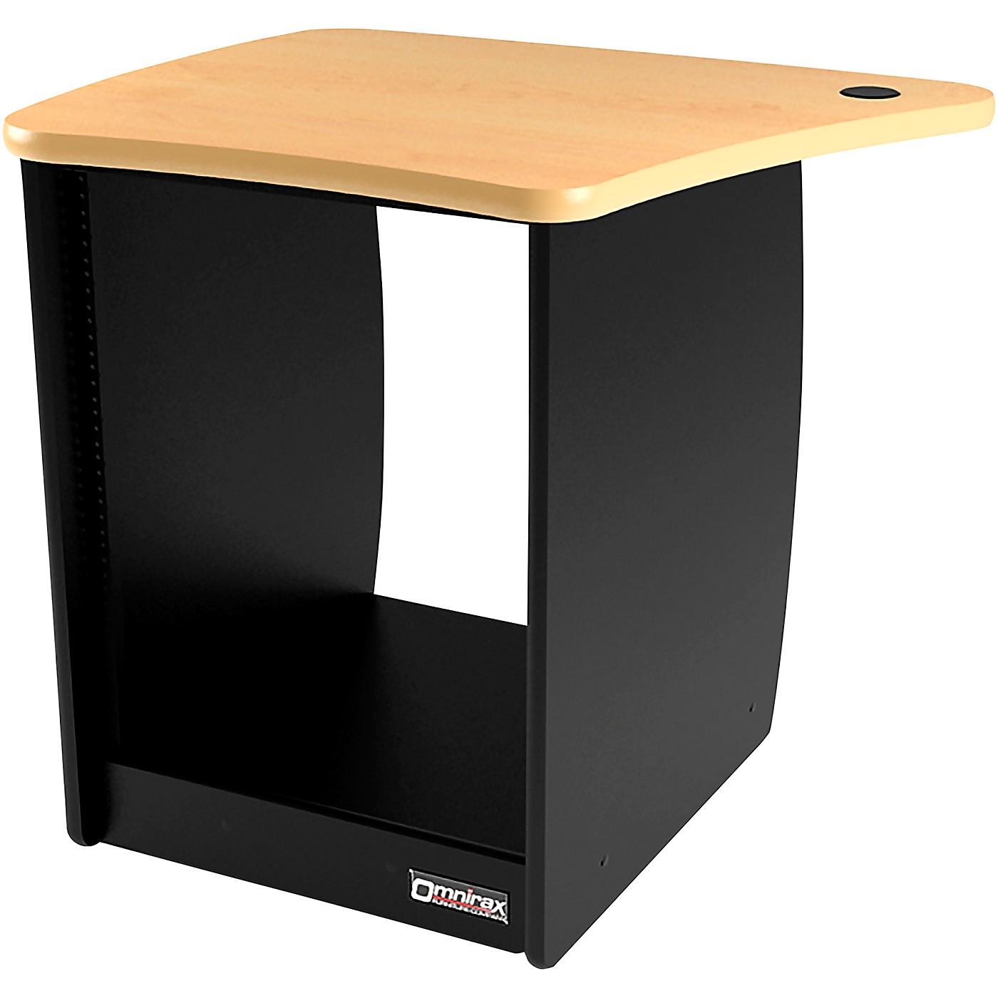 Omnirax OM13DL 13 RU Left Side Cabinet for OmniDesk Suite thumbnail