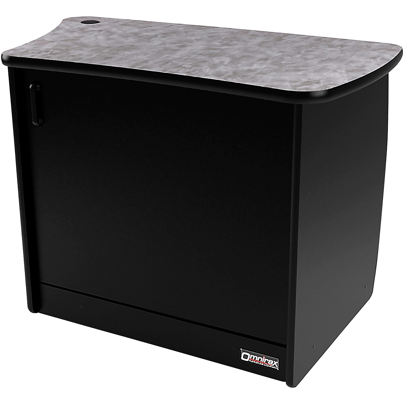 Omnirax OM13DL 13 RU Right Side Cabinet with Door for OmniDesk Suite thumbnail