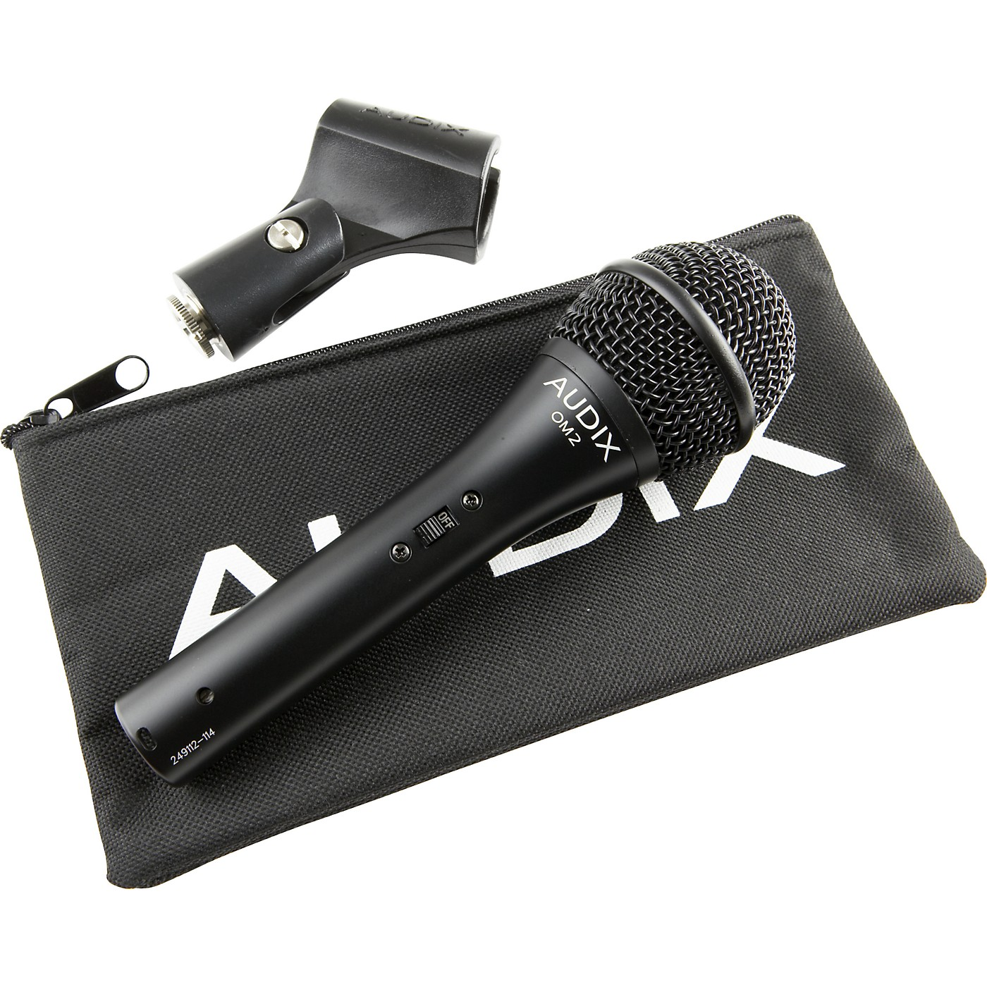Audix OM2-S Dynamic Mic with Switch thumbnail