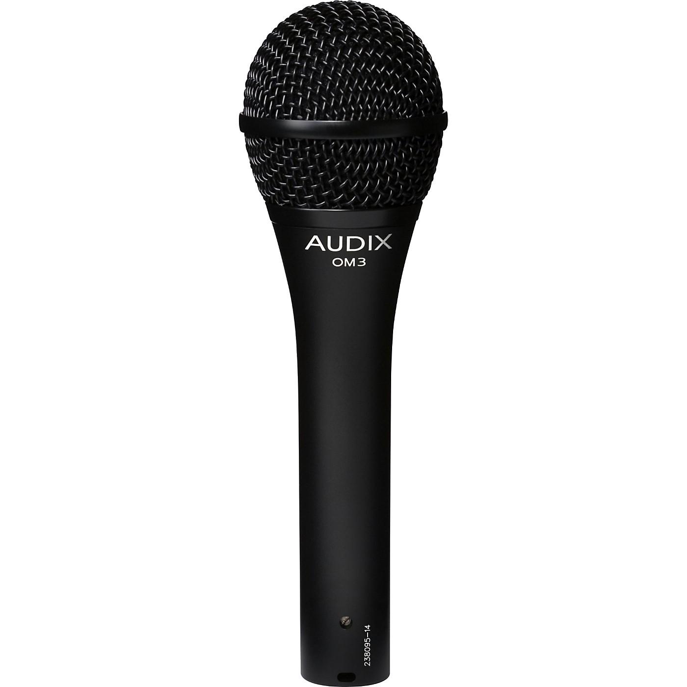 Audix OM3 Hypercardioid Vocal Microphone thumbnail