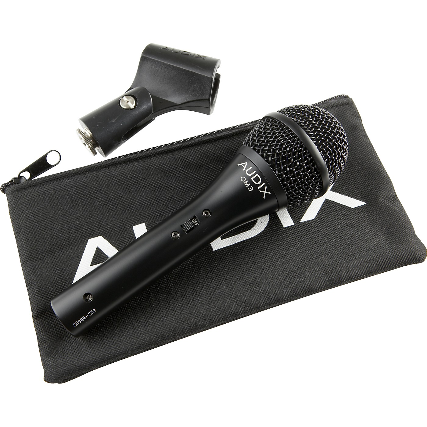 Audix OM3-S Hypercardioid Vocal Microphone with Switch thumbnail