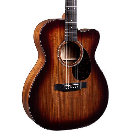 Martin OMC-16E 16 Series Ovangkol Burst Acoustic-Electric Guitar thumbnail