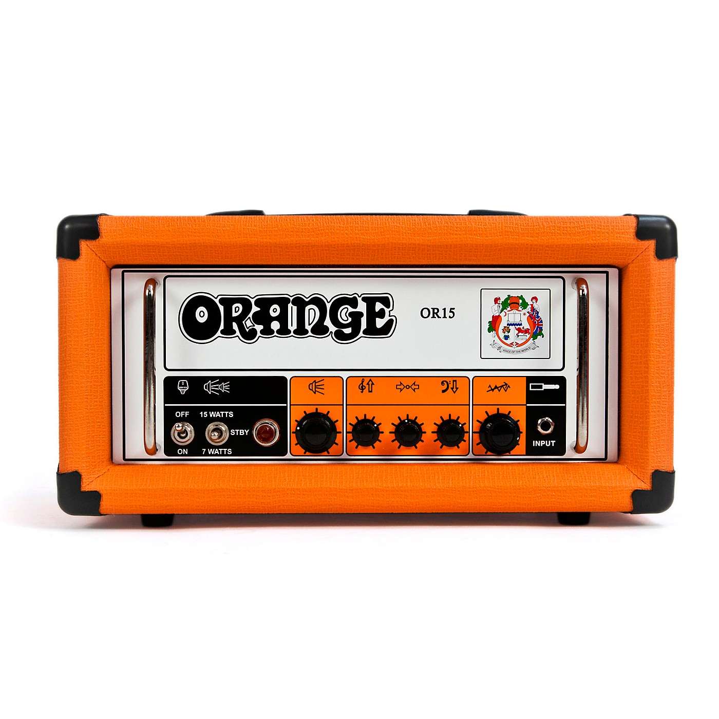 Orange Amplifiers OR Series OR15H 15W Compact Tube Guitar Amp Head thumbnail