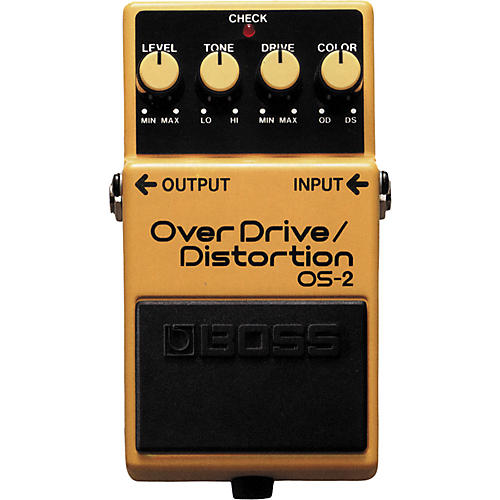 Boss OS-2 Overdrive/Distortion Guitar Effects Pedal thumbnail