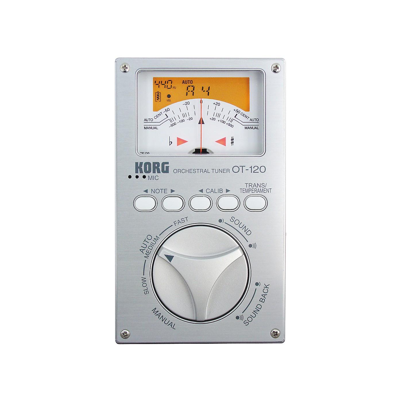 Korg OT-120 Chromatic Orchestral Tuner thumbnail