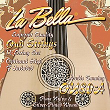 LaBella OU80A Oud Strings - Arabic Tuning