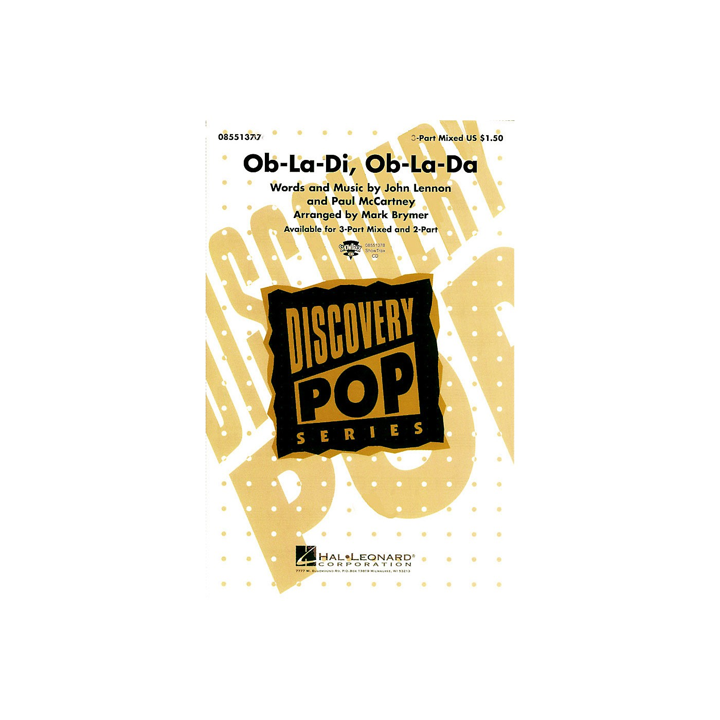 Hal Leonard Ob-La-Di, Ob-La-Da 2-Part by The Beatles arranged by Mark Brymer thumbnail