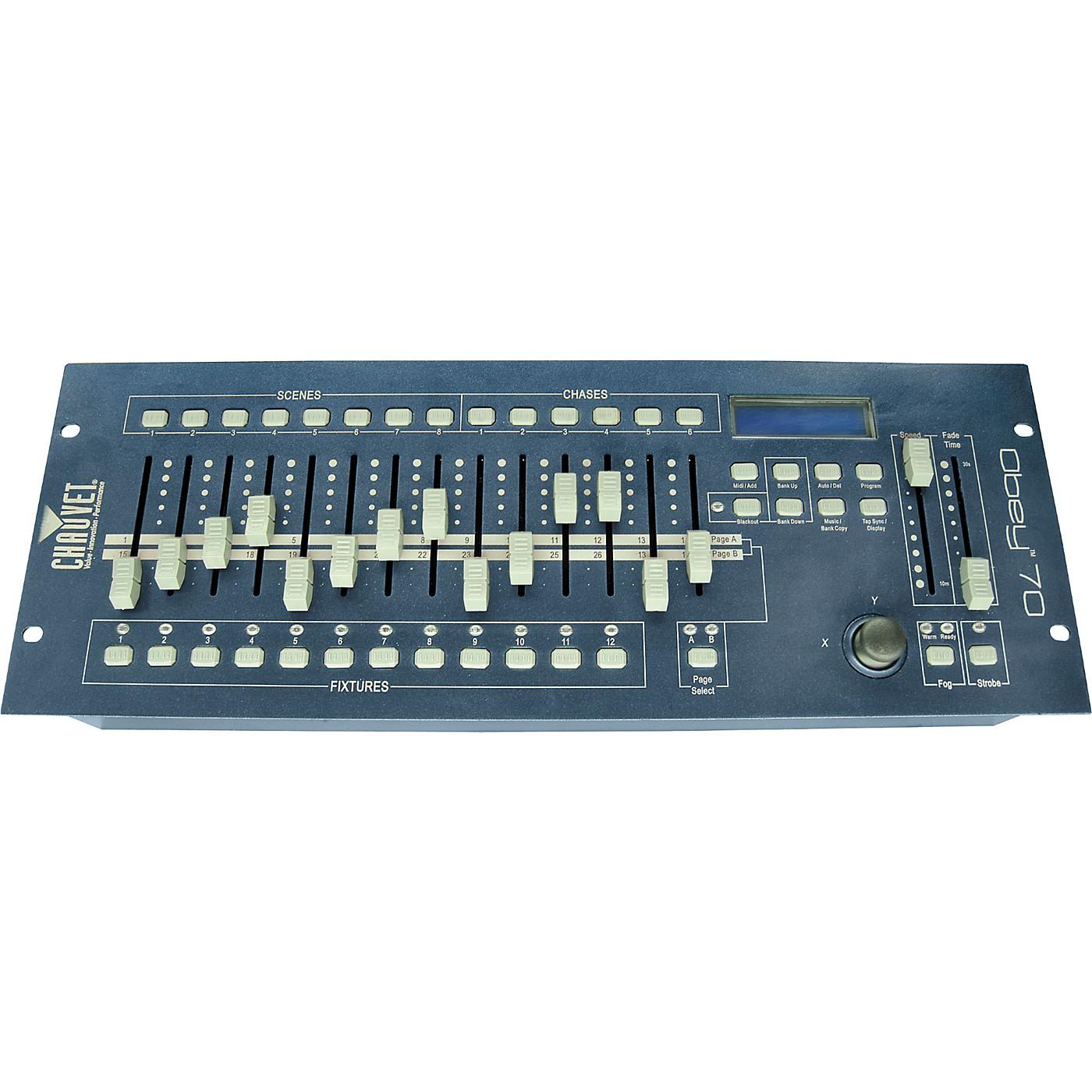 CHAUVET DJ Obey 70 Compact DMX Controller for LED Wash Lights thumbnail