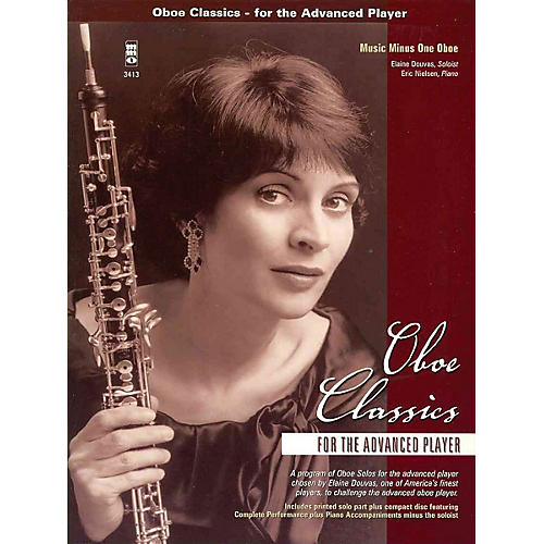 Music Minus One Oboe Classics for the Advanced Player Music Minus One Series BK/CD by Various thumbnail