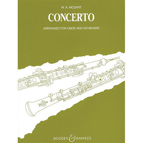 Boosey and Hawkes Oboe Conc in C, K. 314 Boosey & Hawkes Chamber Music Series by Wolfgang Amadeus Mozart thumbnail
