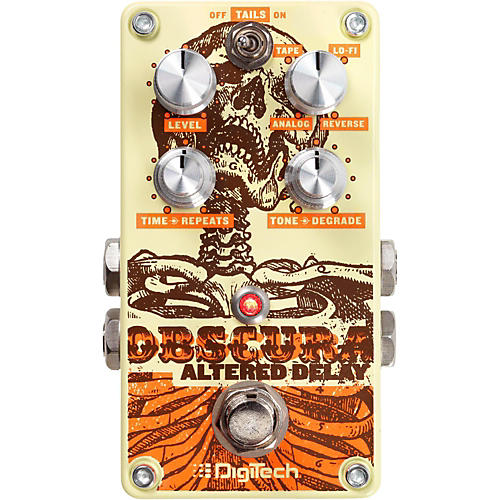 DigiTech Obscura Altered Delay Guitar Effects Pedal thumbnail