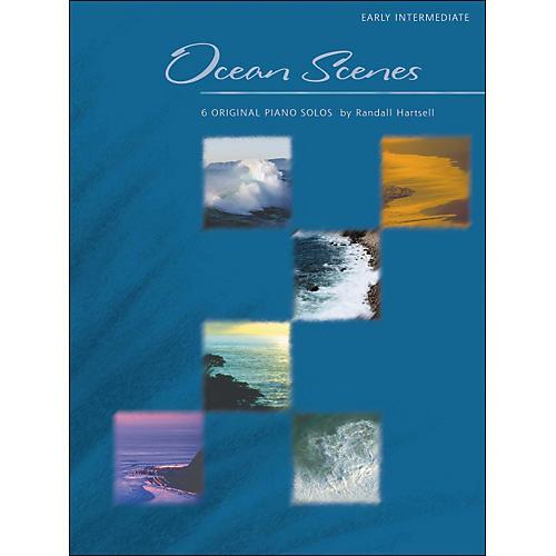 Willis Music Ocean Scenes - 6 Original Piano Solos by Randall Hartsell thumbnail