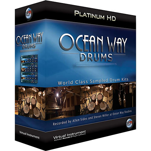 Ilio Ocean Way Drums Platinum - Mac thumbnail
