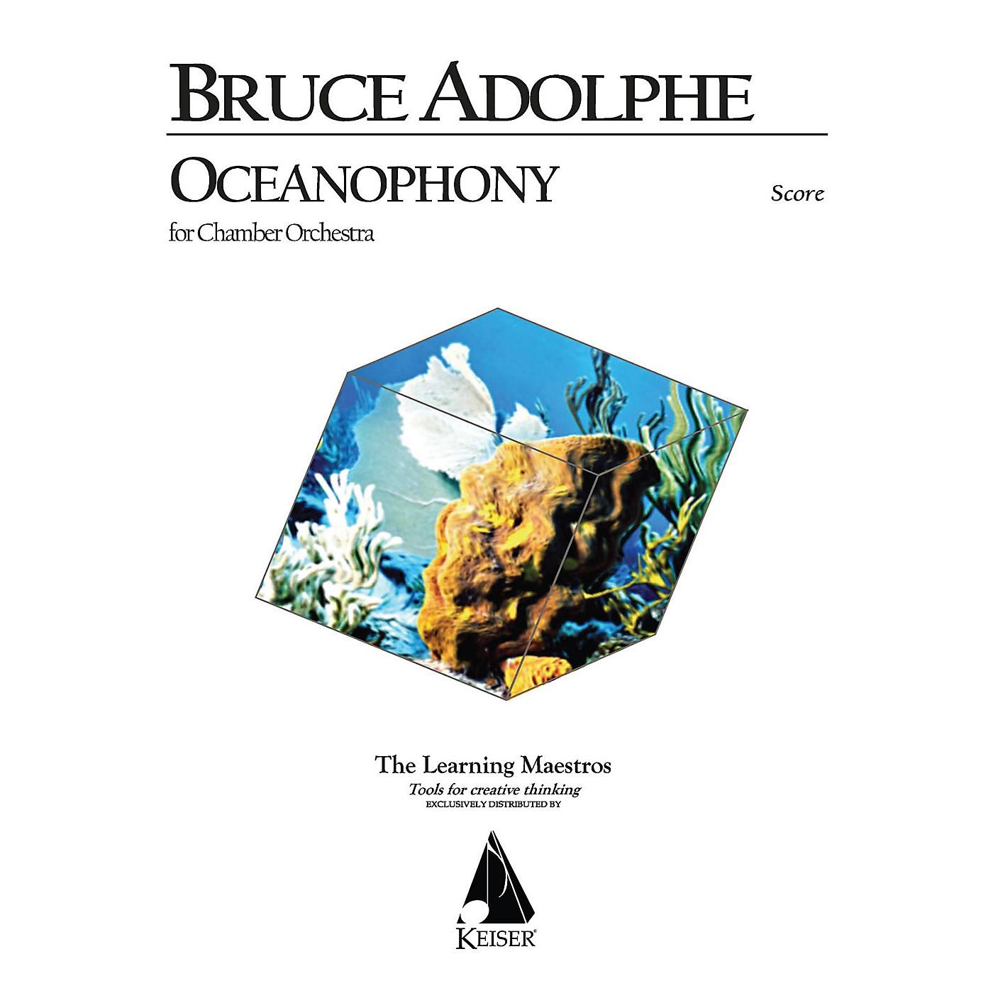 Lauren Keiser Music Publishing Oceanophony for Chamber Orchestra LKM Music Series by Bruce Adolphe thumbnail