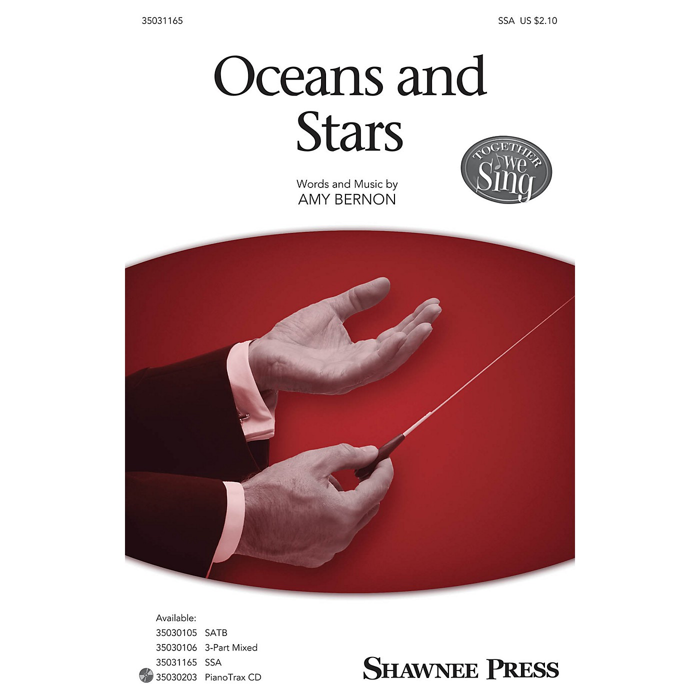 Shawnee Press Oceans and Stars SSA composed by Amy Bernon thumbnail