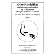 Transcontinental Music Ocho Kandelikas (Eight Little Candles) SATB arranged by Joshua Jacobson