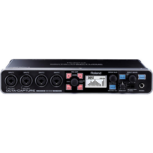 Roland Octa-Capture 10X10 USB Audio Interface thumbnail