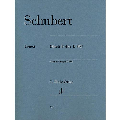G. Henle Verlag Octet in F Major D 803 Henle Music Folios Series by Franz Schubert thumbnail