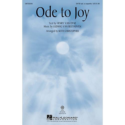 Hal Leonard Ode to Joy SATB arranged by Keith Christopher thumbnail