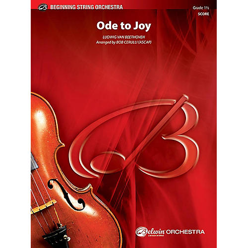 Alfred Ode to Joy String Orchestra Grade 1 Set thumbnail