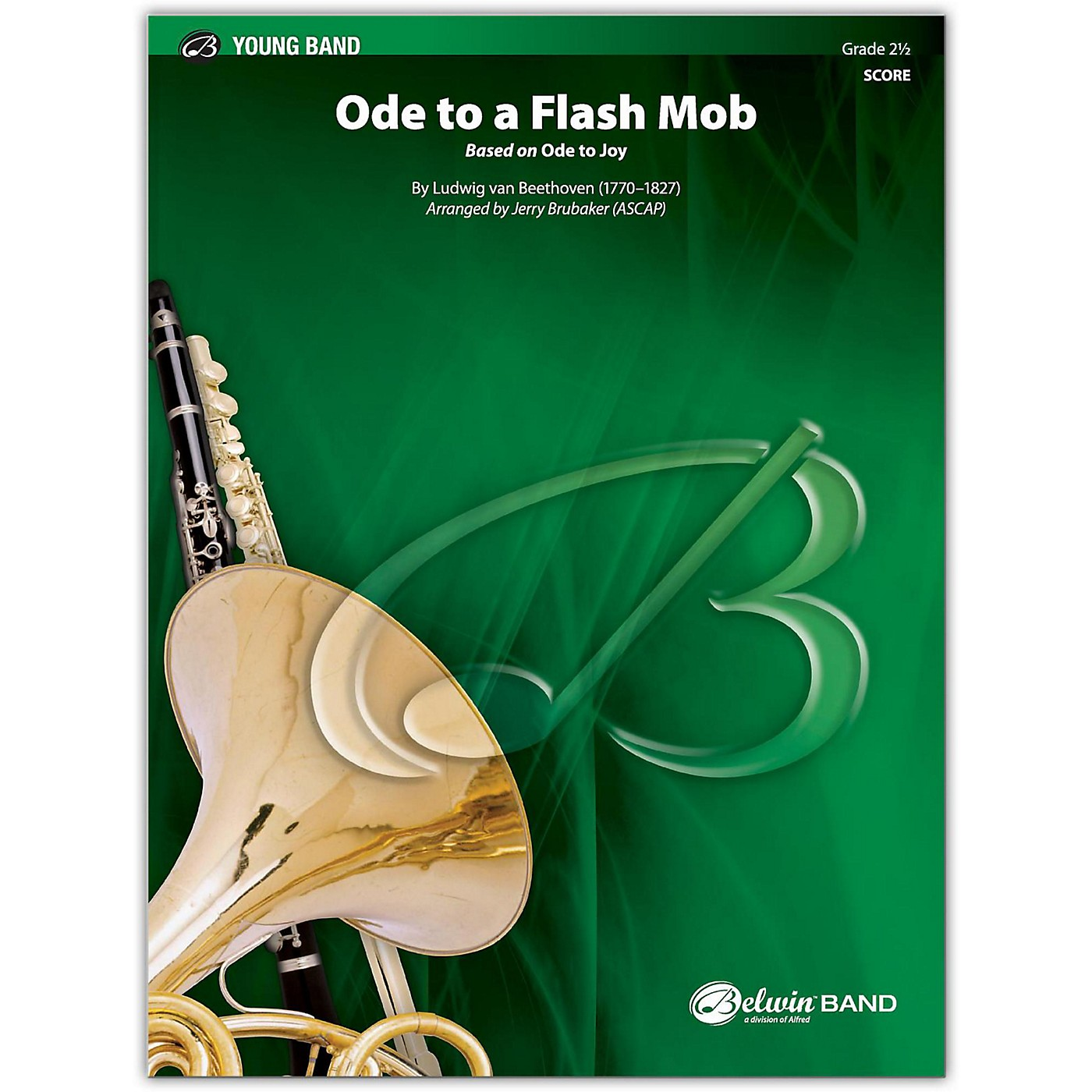BELWIN Ode to a Flash Mob Conductor Score 2.5 (Easy to Medium Easy) thumbnail
