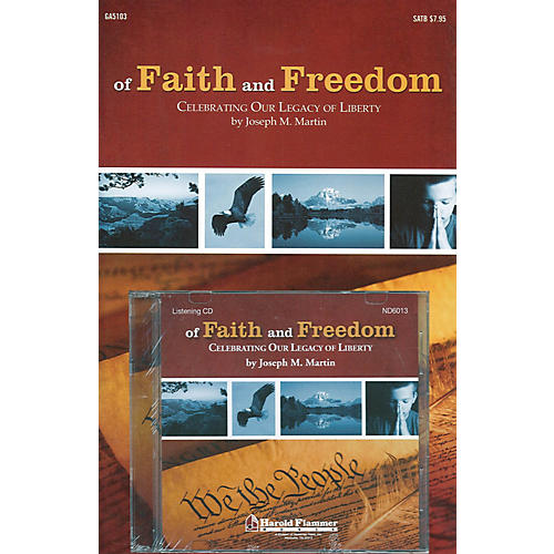 Shawnee Press Of Faith and Freedom (Preview Pak (Book/CD)) Preview Pak composed by Joseph M. Martin thumbnail
