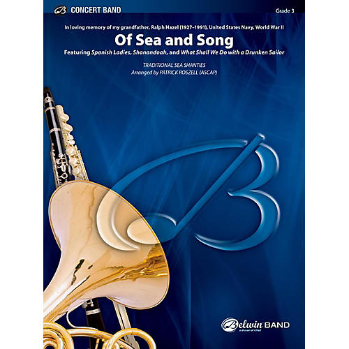 BELWIN Of Sea and Song Concert Band Grade 3 (Medium Easy) thumbnail