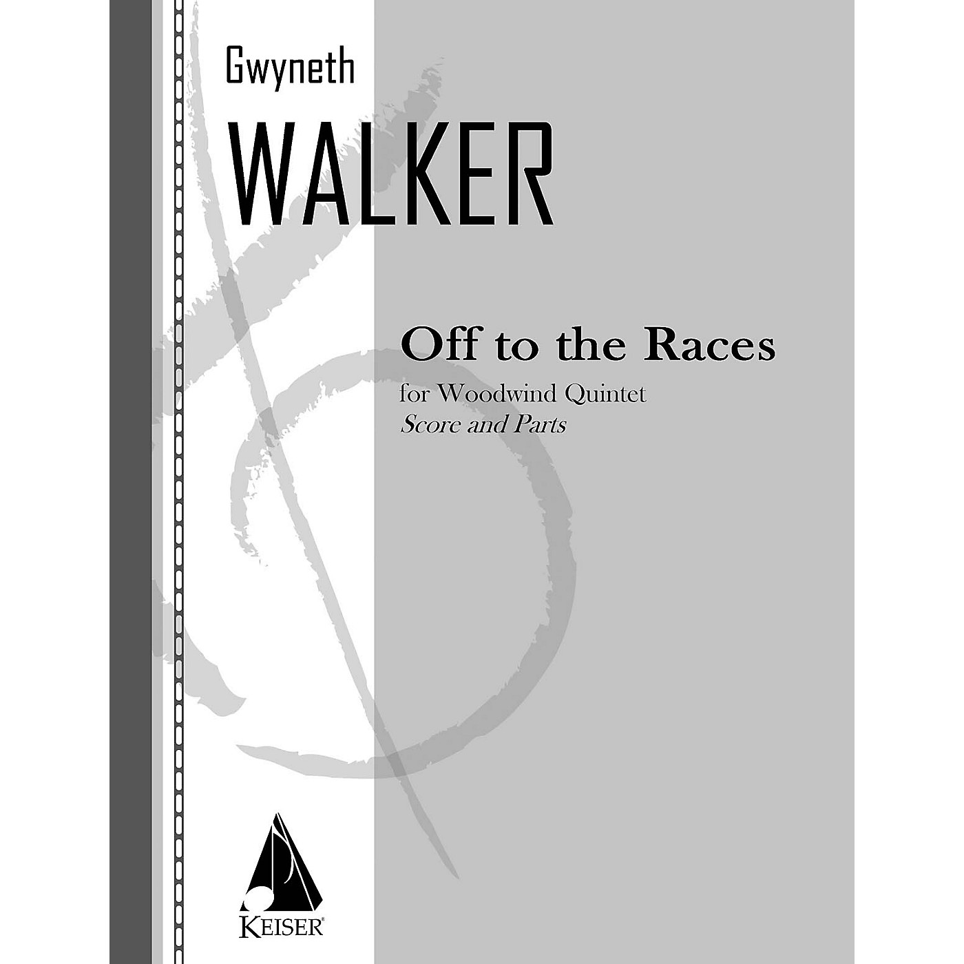 Lauren Keiser Music Publishing Off to the Races for Woodwind Quintet LKM Music Series by Gwyneth Walker thumbnail