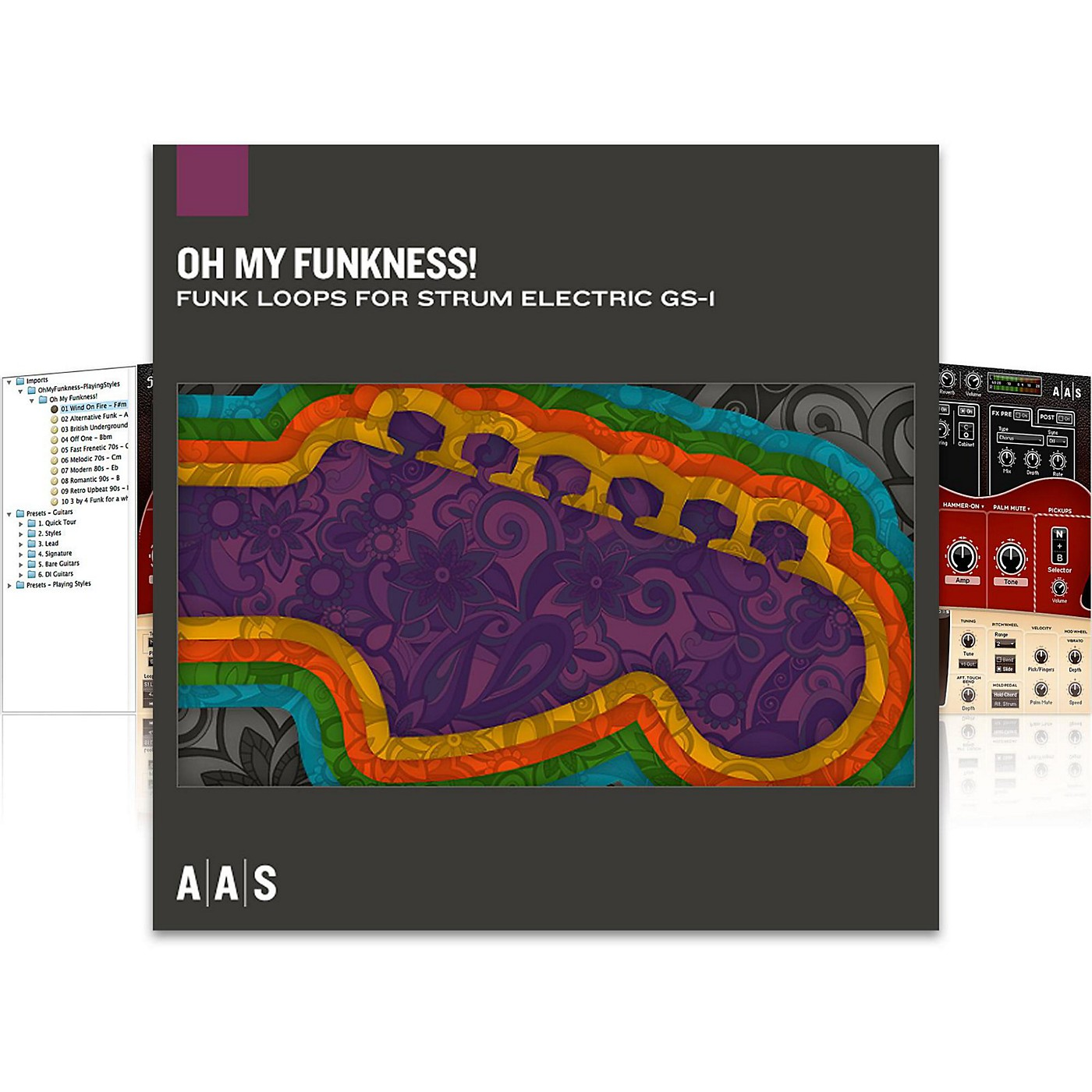 Applied Acoustics Systems Oh My Funkness! Software Download thumbnail