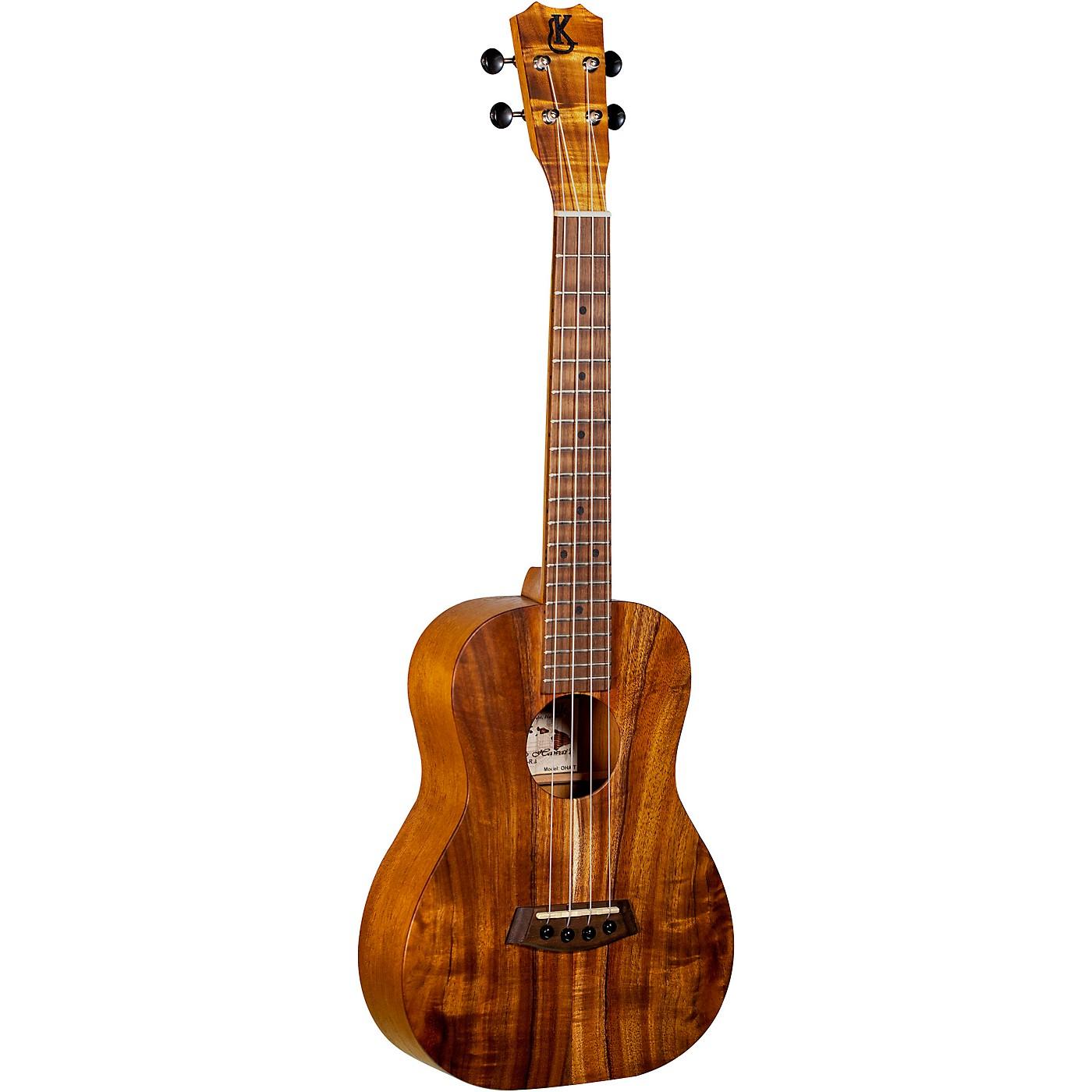 Kanile'a Ukulele Oha Tenor Acoustic-Electric Ukulele thumbnail