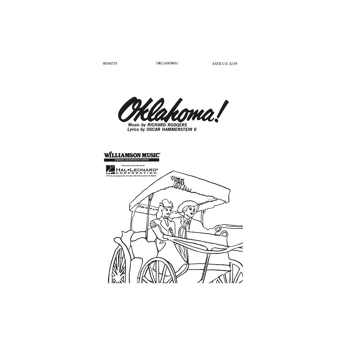 Hal Leonard Oklahoma! (Medley) (SATB) SATB arranged by Clay Warnick thumbnail