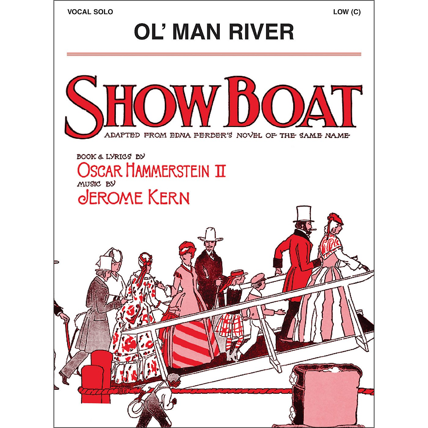 Hal Leonard Ol' Man River Low C From Show Boat Vocal Solo thumbnail
