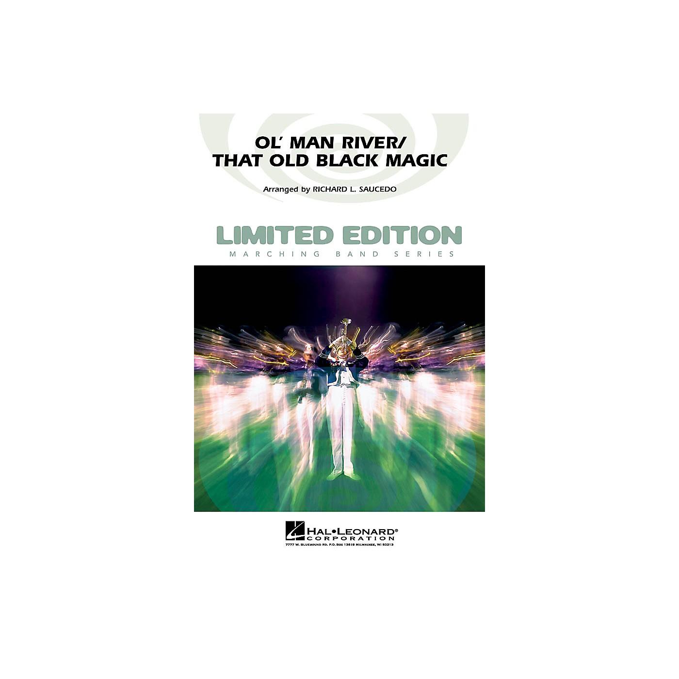 Hal Leonard Ol' Man River/That Old Black Magic Marching Band Level 5 Arranged by Richard L. Saucedo thumbnail