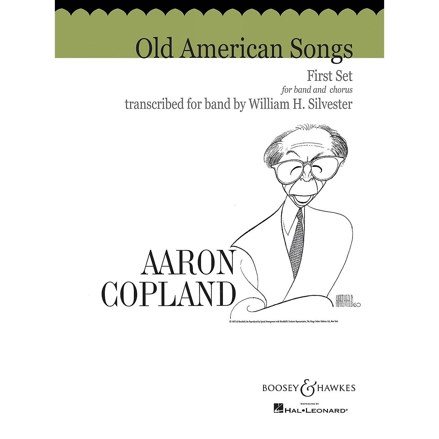 Boosey and Hawkes Old American Songs - First Set Concert Band Composed by Aaron Copland Arranged by William H. Silvester thumbnail