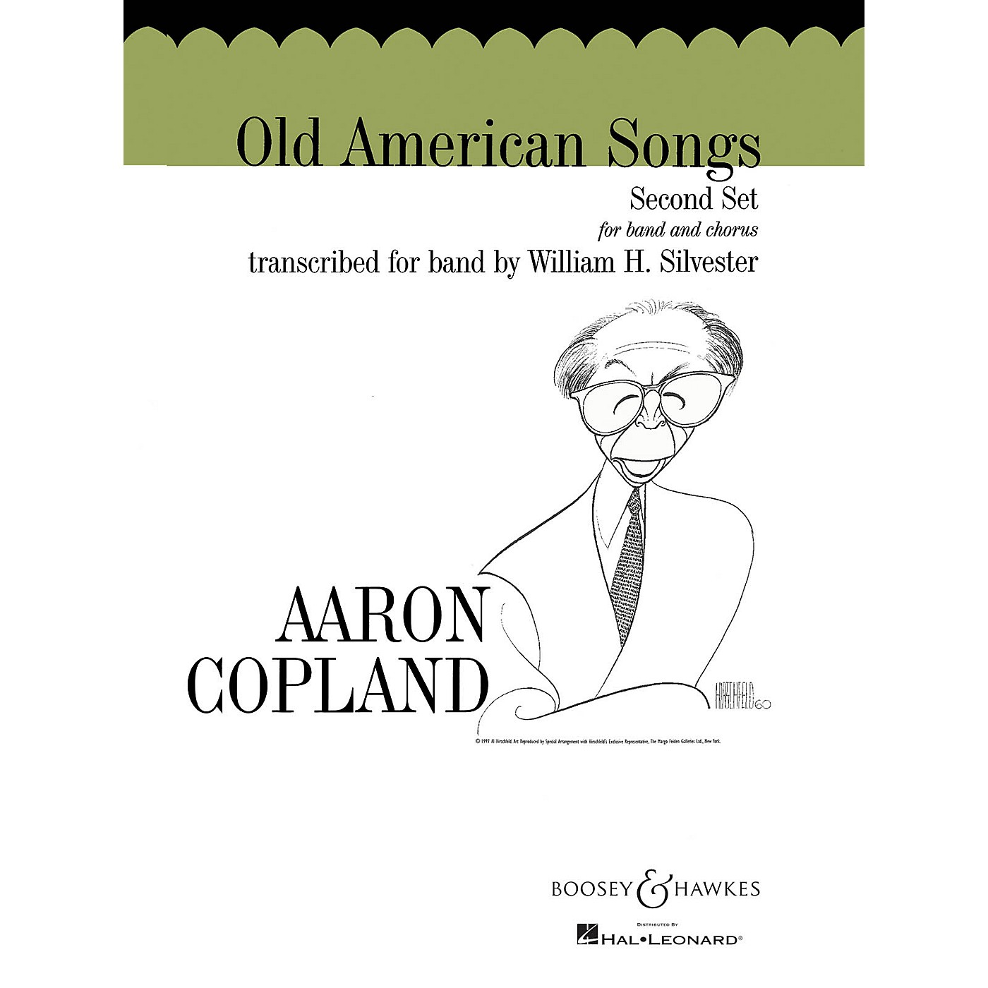 Boosey and Hawkes Old American Songs - Second Set Concert Band Composed by Aaron Copland Arranged by William H. Silvester thumbnail