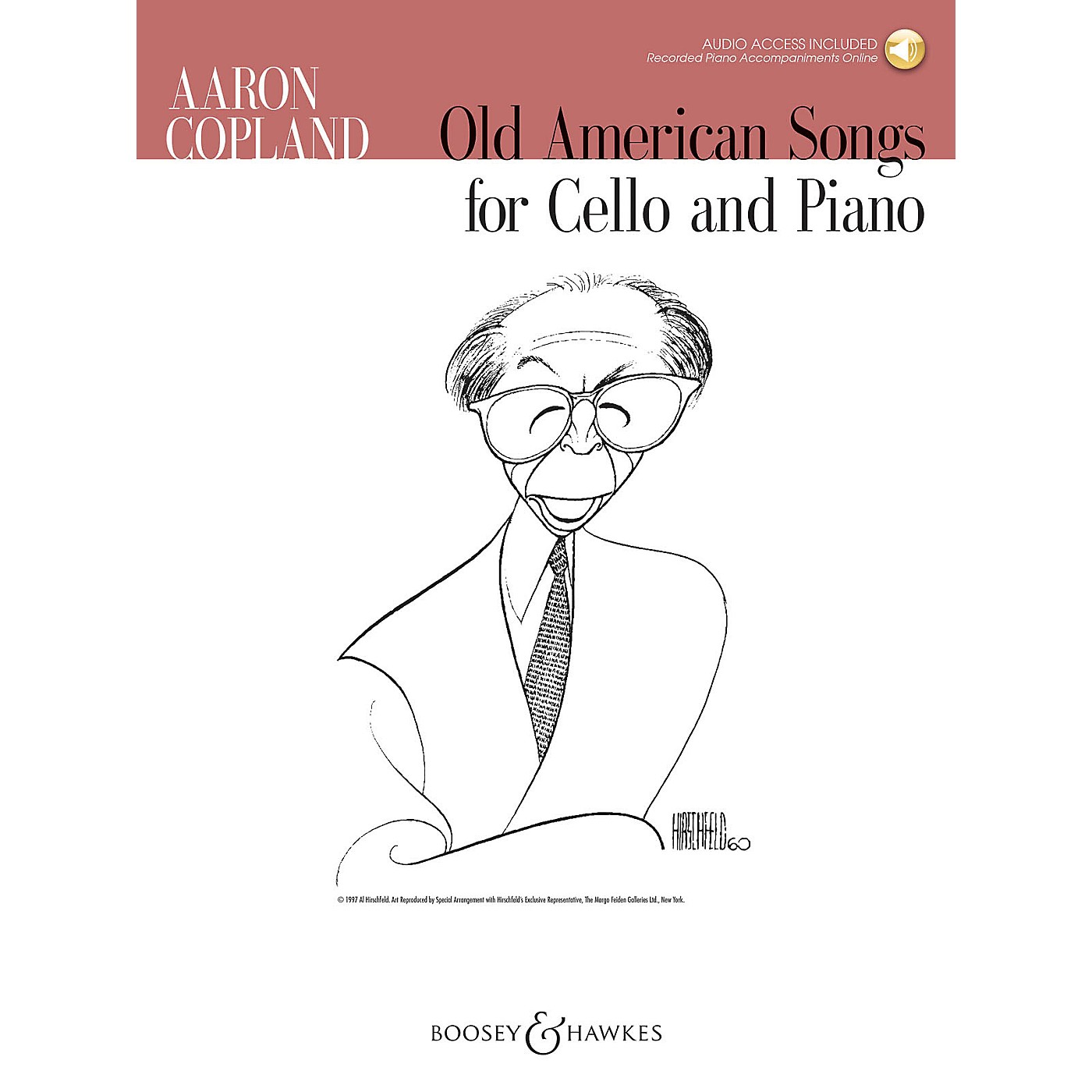 Boosey and Hawkes Old American Songs (Cello and Piano) Boosey & Hawkes Chamber Music Series Softcover Audio Online thumbnail