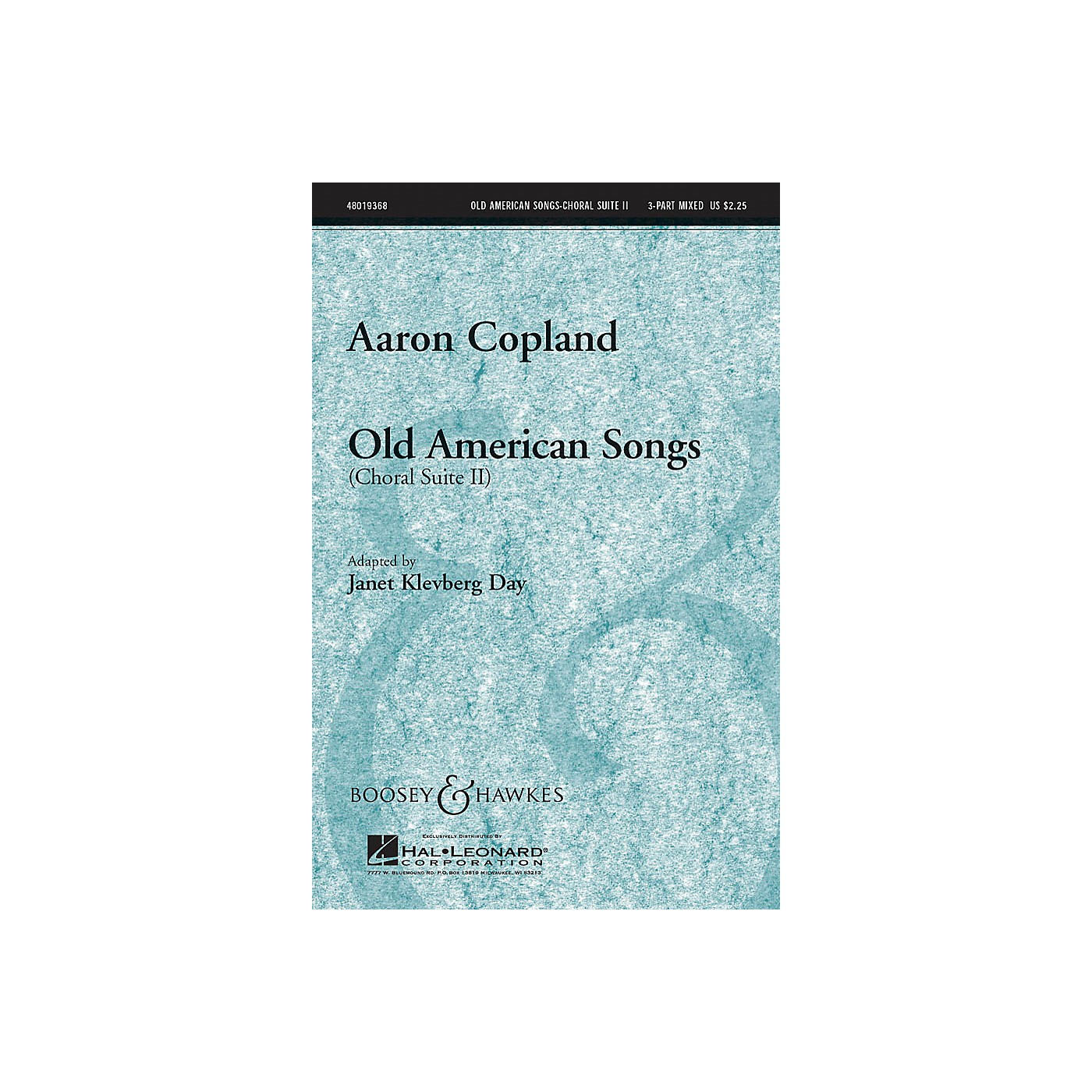 Boosey and Hawkes Old American Songs (Choral Suite II) 3-Part Mixed by Aaron Copland arranged by Janet Klevberg Day thumbnail