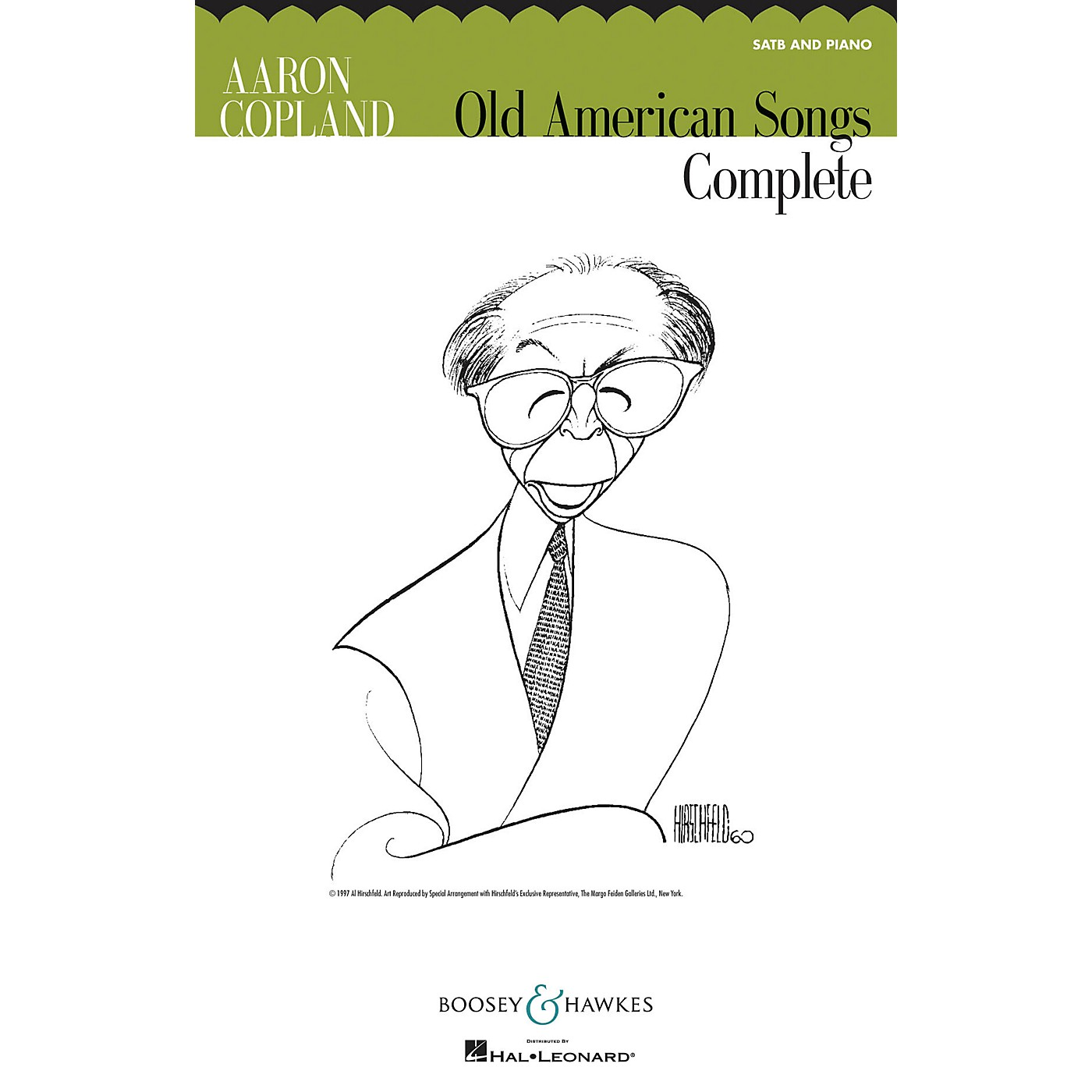 Boosey and Hawkes Old American Songs Complete (SATB and Piano) SATB composed by Aaron Copland thumbnail