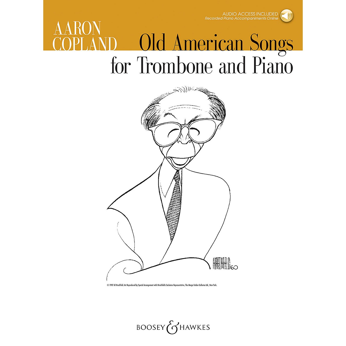 Boosey and Hawkes Old American Songs (Trombone and Piano) Boosey & Hawkes Chamber Music Series Softcover Audio Online thumbnail