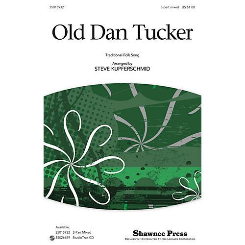 Shawnee Press Old Dan Tucker 3-Part Mixed arranged by Steve Kupferschmid thumbnail