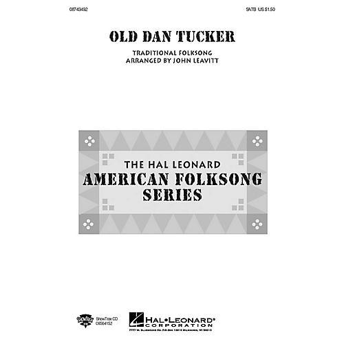 Hal Leonard Old Dan Tucker TTB Arranged by John Leavitt thumbnail