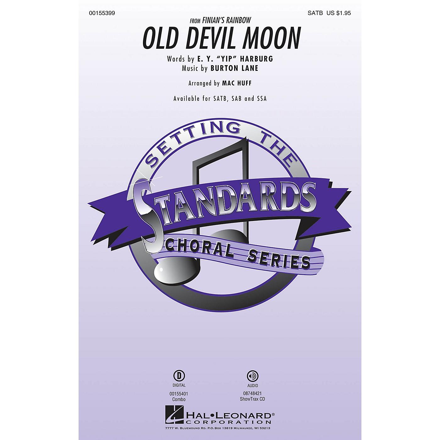 Hal Leonard Old Devil Moon (from Finian's Rainbow) SAB Arranged by Mac Huff thumbnail