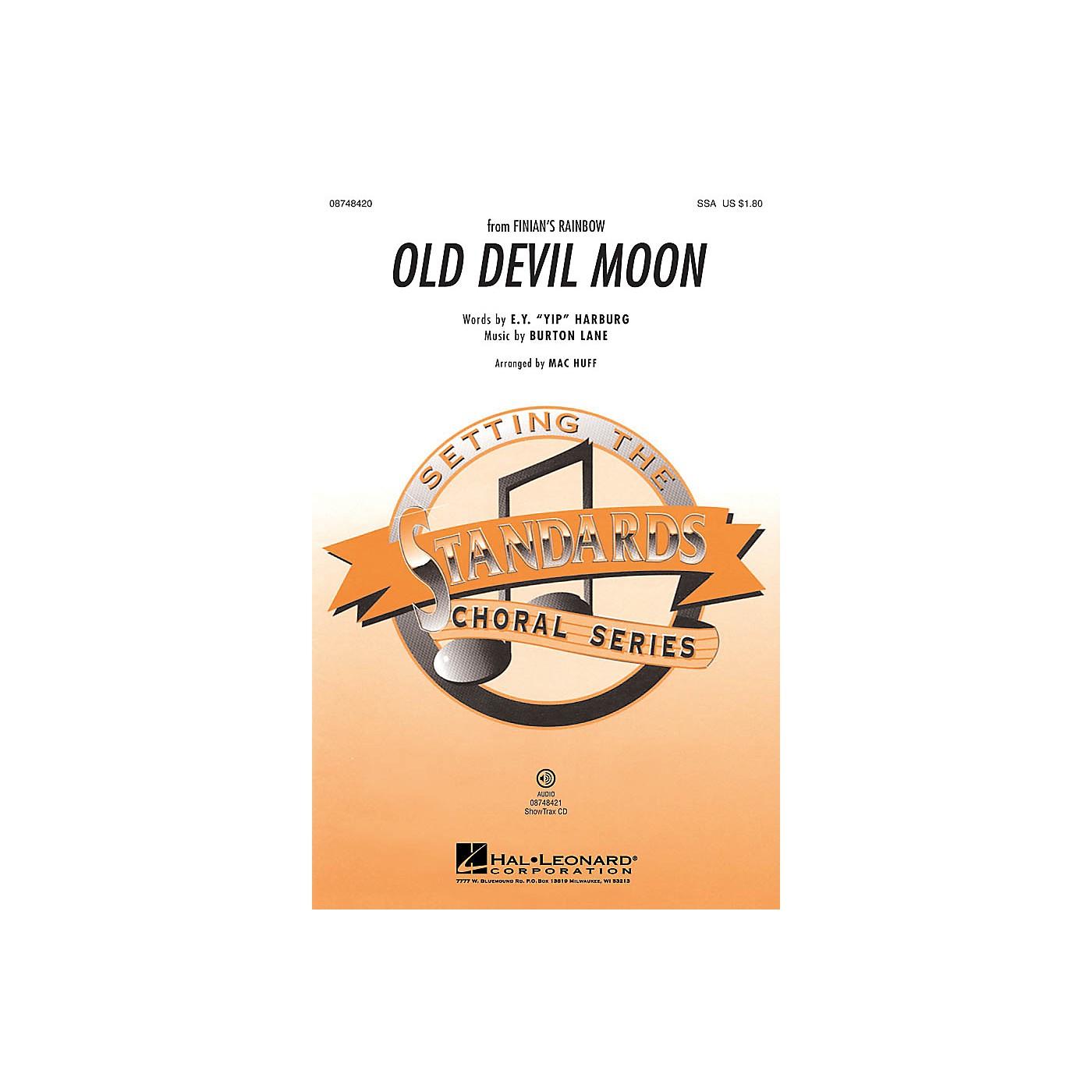 Hal Leonard Old Devil Moon (from Finian's Rainbow) ShowTrax CD Arranged by Mac Huff thumbnail