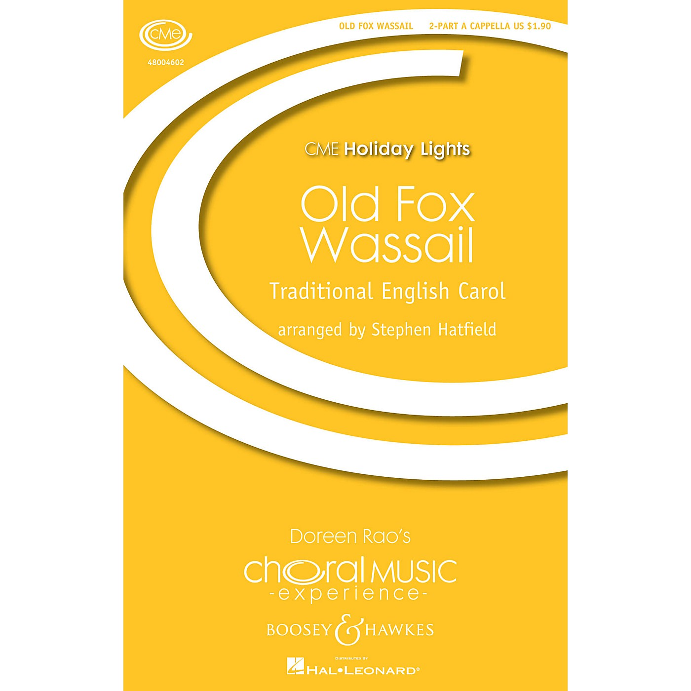 Boosey and Hawkes Old Fox Wassail (2-Part Any Comb.) 2-Part a cappella arranged by Stephen Hatfield thumbnail