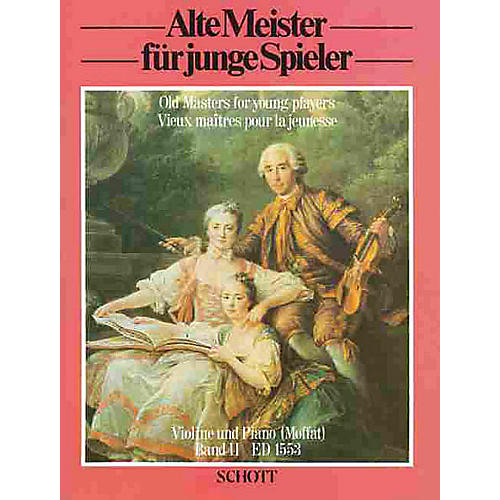 Schott Old Masters for Young Players - Volume 2 (Easy Classical Pieces for Violin) Schott Series thumbnail
