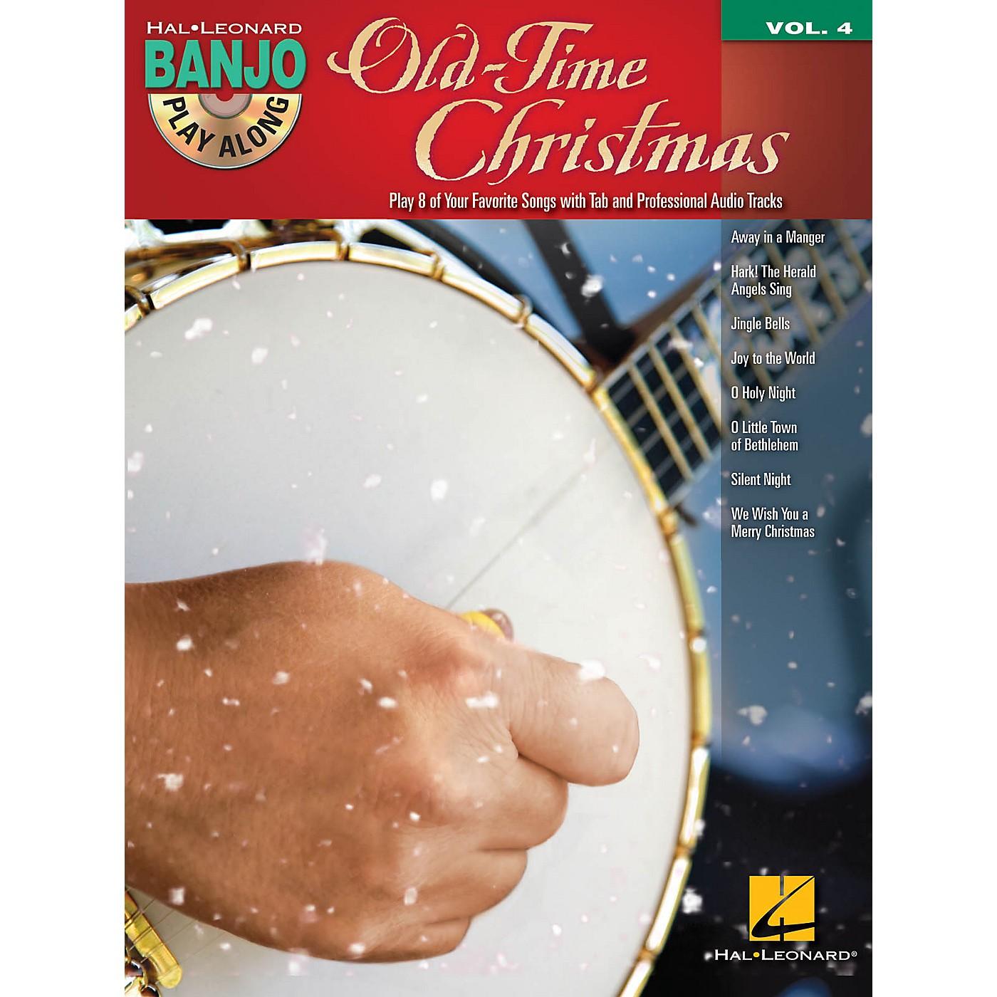 Hal Leonard Old-Time Christmas (Banjo Play-Along Volume 4) Banjo Play Along Series Softcover with CD thumbnail